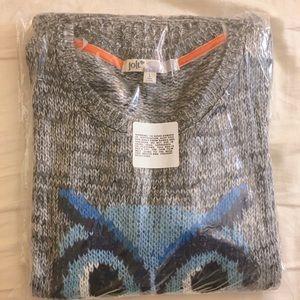 Knit Jolt owl sweater (still in packaging)